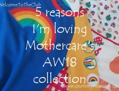 5 reasons I'm loving Mothercare's AW18 collection