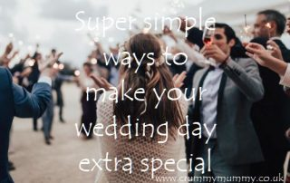 ways to make your wedding day extra special