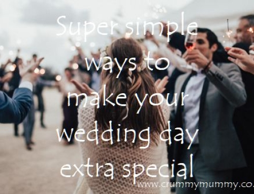 Super simple ways to make your wedding day extra special