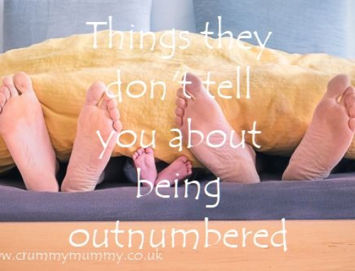 Things they don't tell you about being outnumbered