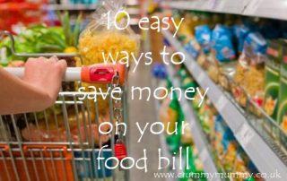 easy ways to save money on your food bill