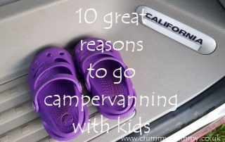 campervanning with kids