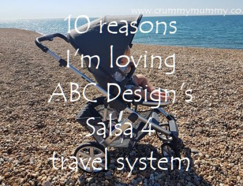 10 reasons I'm loving ABC Design's Salsa 4 travel system