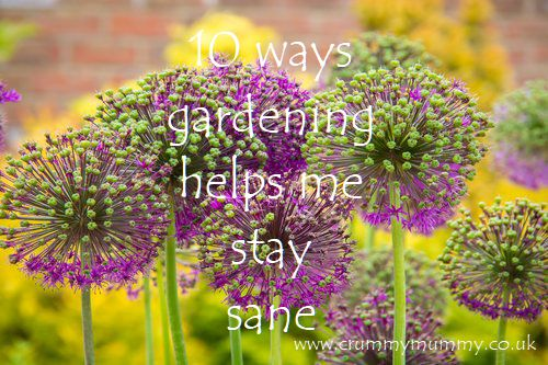 ways gardening helps