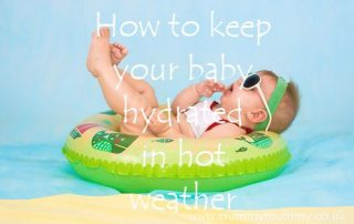 How to keep your baby hydrated