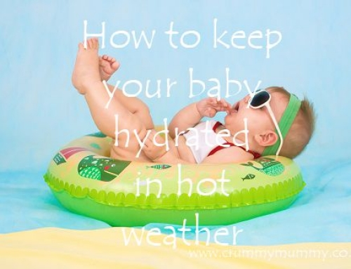 How to keep your baby hydrated in hot weather & win one of 4 glittery Doidy Cups!