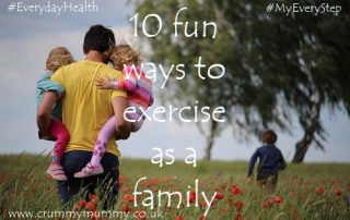 ways to exercise as a family