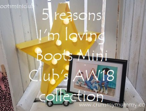 5 reasons I'm loving Boots Mini Club's AW18 collection