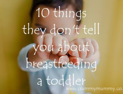 10 things they don't tell you about breastfeeding a toddler