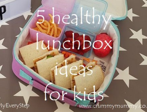 5 healthy lunchbox ideas for kids #ad