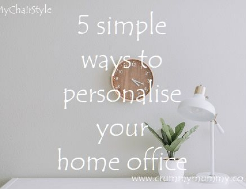 5 simple ways to personalise your home office