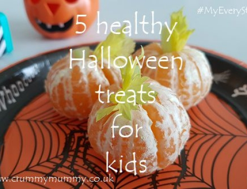 5 healthy Halloween treats for kids #ad