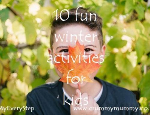10 fun winter activities for kids #ad
