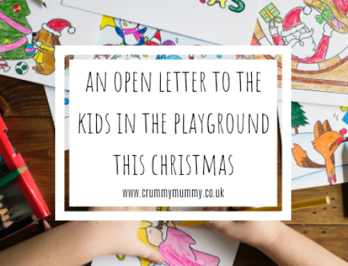 An open letter to the kids in the playground this Christmas