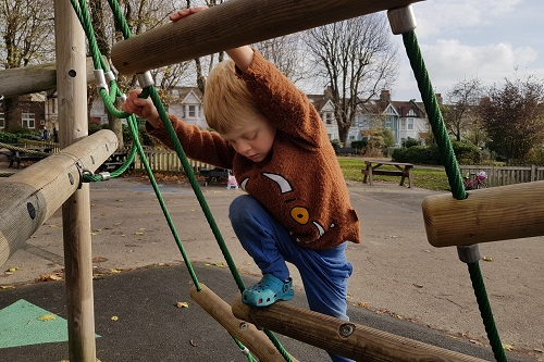 Encouraging outdoor play when you don't have a garden 6