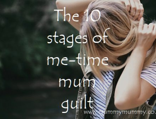 The 10 stages of me-time mum guilt