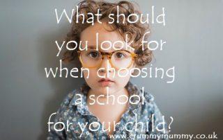 choosing a school