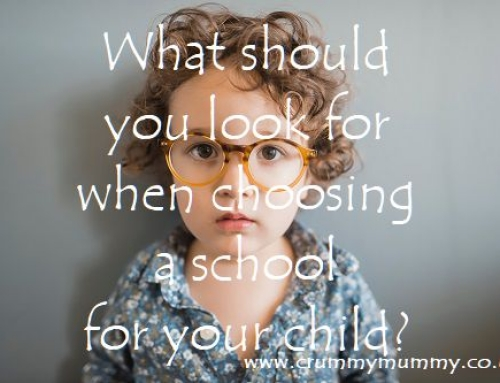 What should you look for when choosing a school for your child?