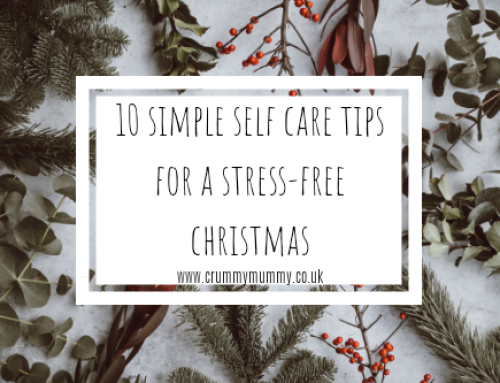 10 simple self care tips for a stress-free Christmas #ad