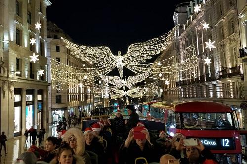 London's Christmas lights