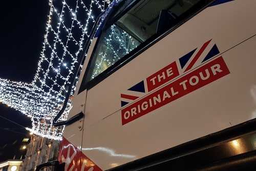 A bird's eye view of London's Christmas lights with The Original Tour 9