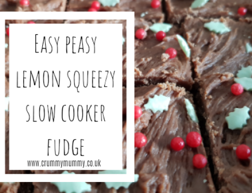 Easy peasy lemon squeezy slow cooker fudge