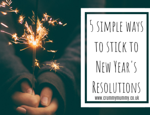 5 simple ways to stick to New Year's Resolutions