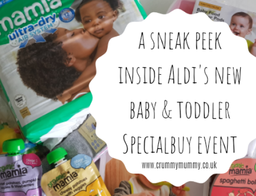 A sneak peek inside Aldi's new baby & toddler Specialbuy event