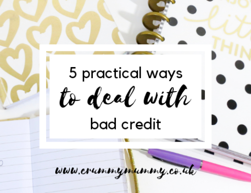 5 practical ways to deal with bad credit