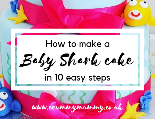 How to make a Baby Shark cake in 10 easy steps
