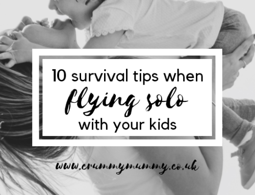 10 survival tips when flying solo with your kids