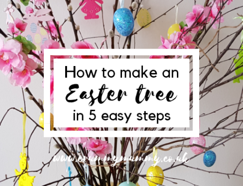 How to make an Easter tree in 5 easy steps