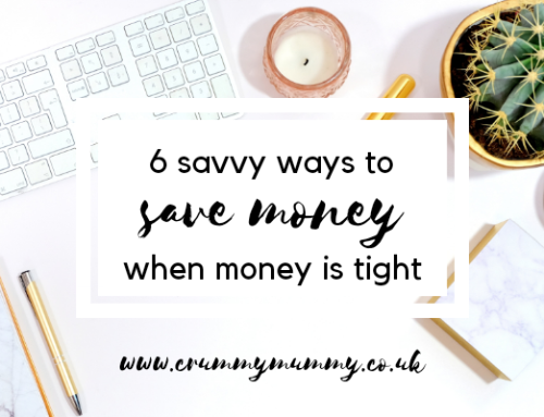 6 savvy ways to save money when money is tight