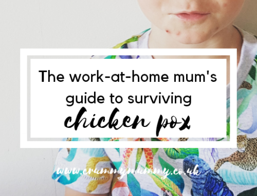The work-at-home mum's guide to surviving chicken pox