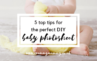 DIY baby photoshoot