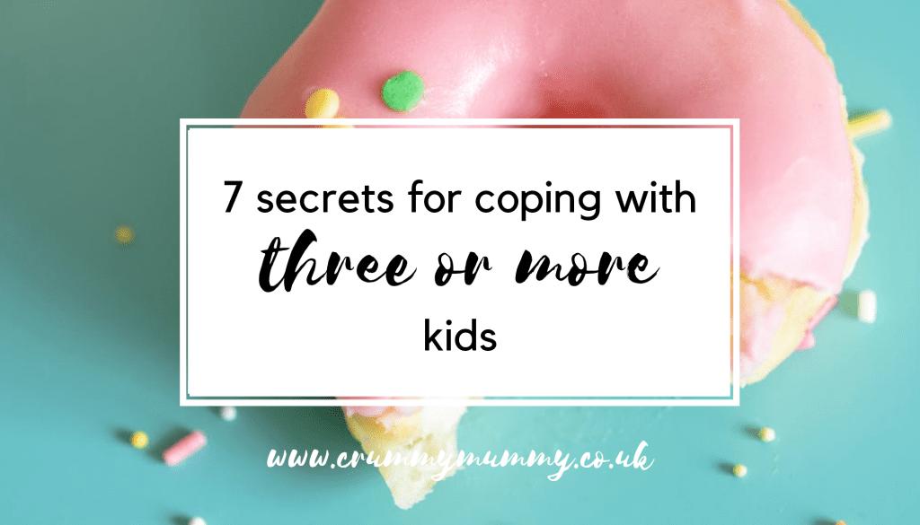 three or more kids