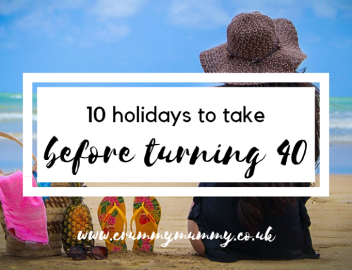 10 holidays to take before turning 40