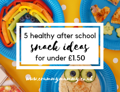 5 healthy after school snack ideas for under £1.50 #ad