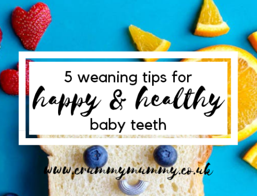 5 weaning tips for happy & healthy baby teeth & WIN one of three Doidy weaning sets!