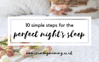 perfect night's sleep