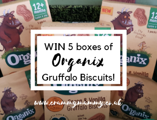 WIN 5 boxes of Organix Gruffalo Biscuits!