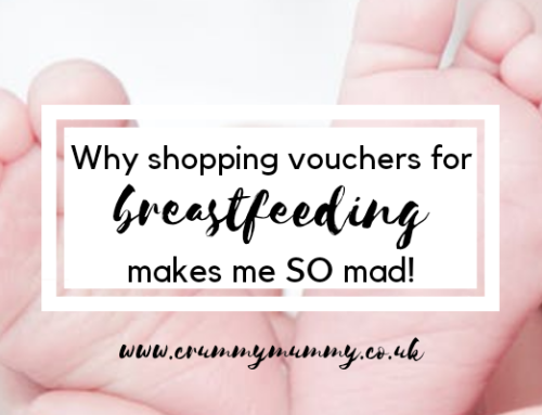Why shopping vouchers for breastfeeding makes me SO mad!