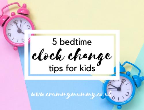 5 bedtime clock change tips for kids
