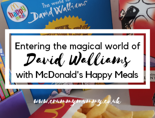 Entering the magical world of David Walliams with McDonald's Happy Meals