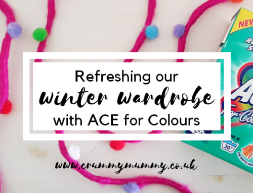 Refreshing our winter wardrobe with ACE for Colours