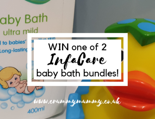 WIN one of 2 InfaCare baby bath bundles!