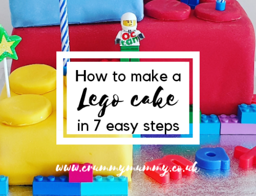How to make a Lego cake in 7 easy steps
