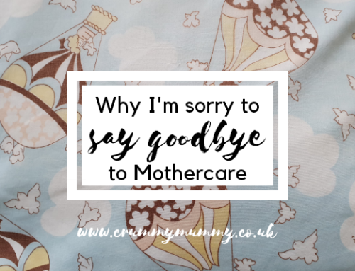 Why I'm sorry to say goodbye to Mothercare