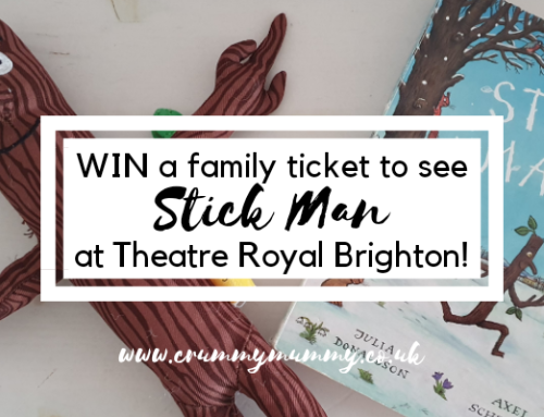 Win a family ticket to see Stick Man at Theatre Royal Brighton!