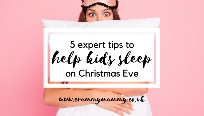 help kids sleep on Christmas Eve